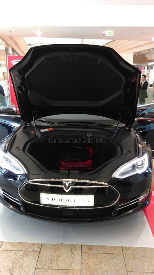 Carro modelo de S Electronic imagem de stock royalty free