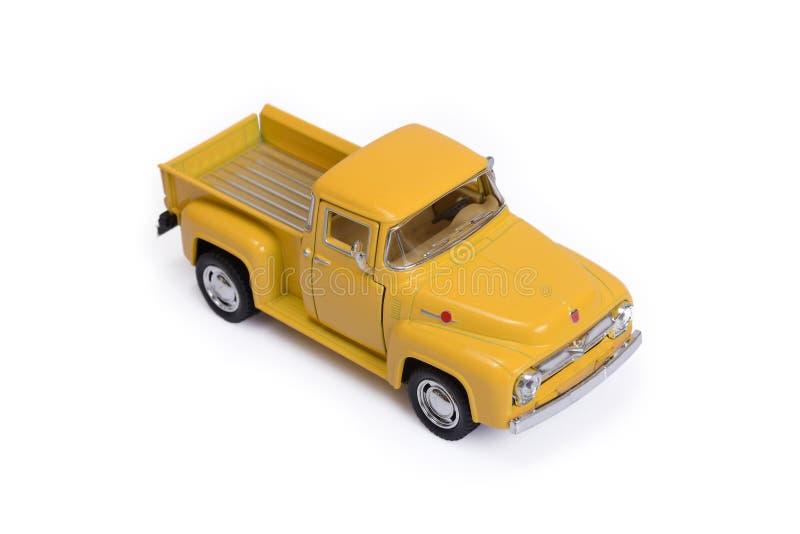 Carro modelo do brinquedo fotos de stock