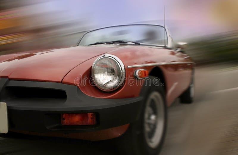 Carro movente rápido imagens de stock royalty free
