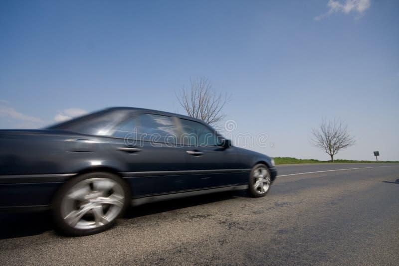 Carro movente rápido imagem de stock royalty free