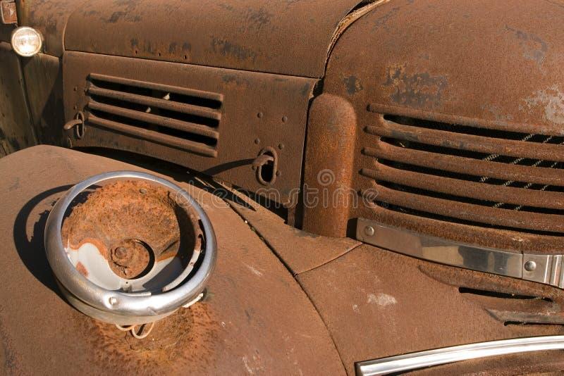 Carro oxidado foto de archivo libre de regalías
