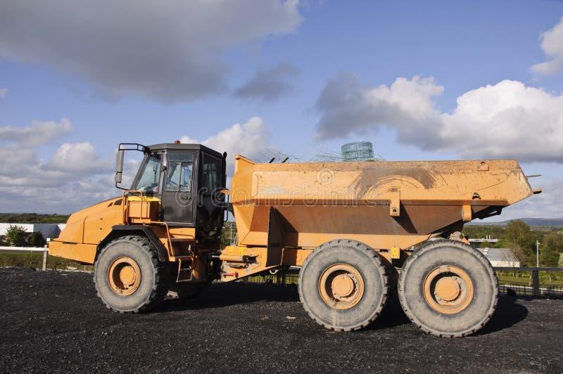 Carro pesado industrial de la tierra de la explotación minera imagen de archivo