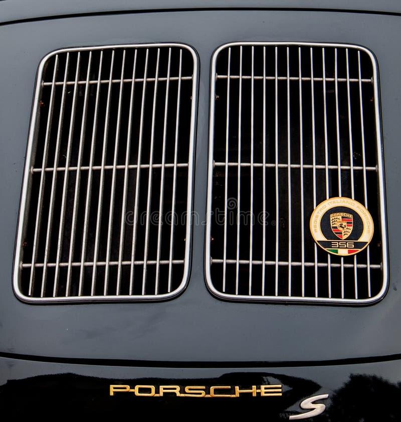 CARRO PORSCHE 356 S DE VINATEGE fotografia de stock