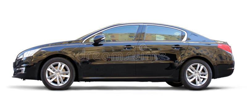 Carro preto imagem de stock royalty free