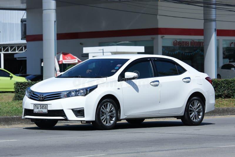 Carro privado, Toyota Corolla Altis imagem de stock