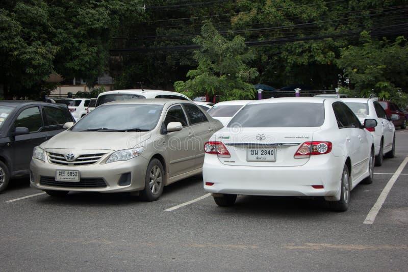 Carro privado Toyota Corolla Altis fotos de stock