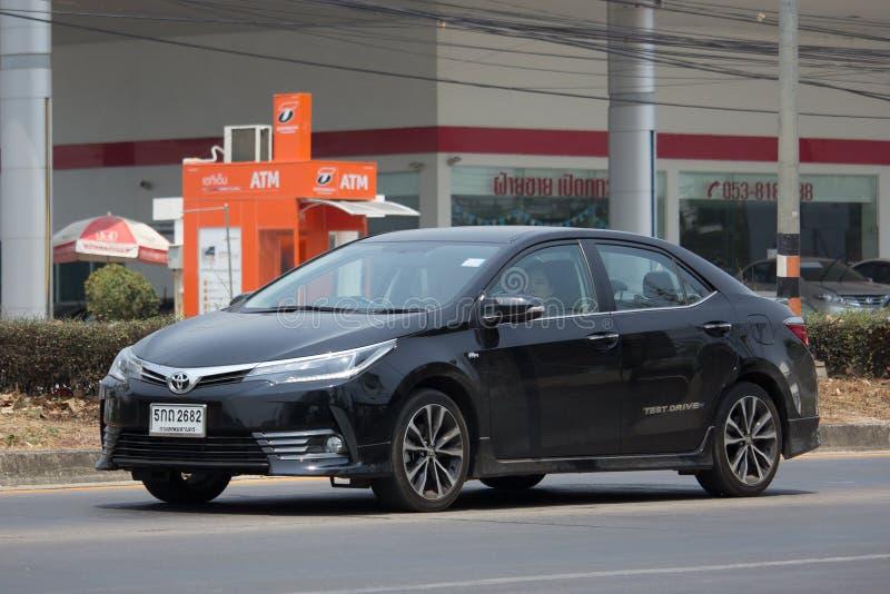 Carro privado, Toyota Corolla Altis foto de stock