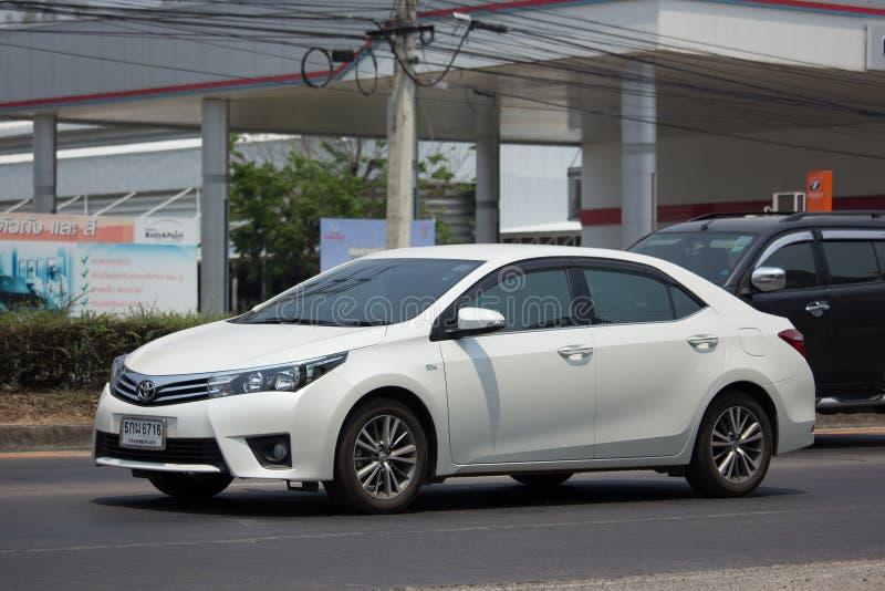 Carro privado, Toyota Corolla Altis fotografia de stock