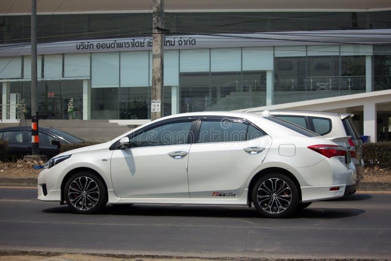 Carro privado, Toyota Corolla Altis imagens de stock royalty free