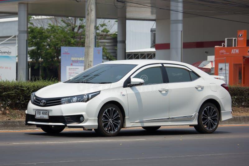 Carro privado, Toyota Corolla Altis imagens de stock