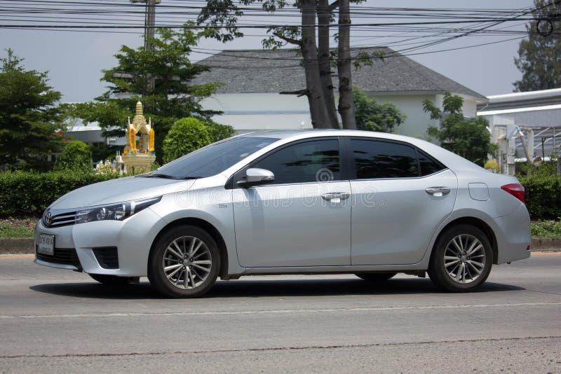 Carro privado, Toyota Corolla Altis imagem de stock royalty free