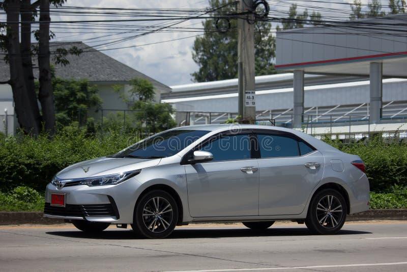 Carro privado, Toyota Corolla Altis Décima primeira geração foto de stock royalty free