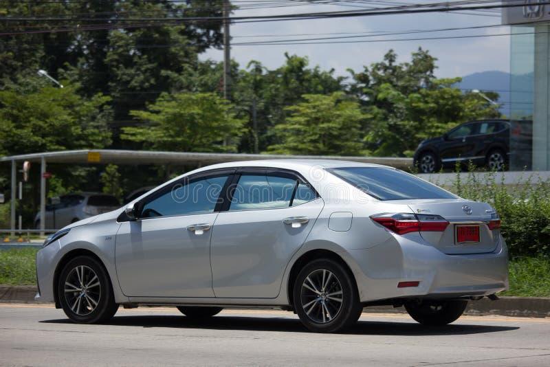 Carro privado, Toyota Corolla Altis Décima primeira geração fotos de stock royalty free