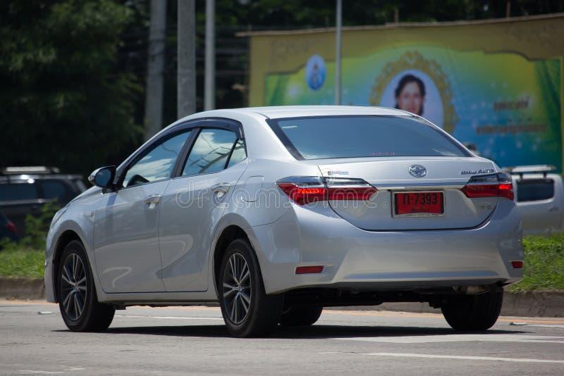 Carro privado, Toyota Corolla Altis Décima primeira geração imagem de stock royalty free