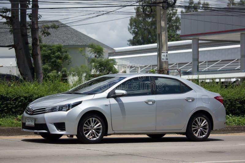 Carro privado, Toyota Corolla Altis Décima primeira geração fotografia de stock