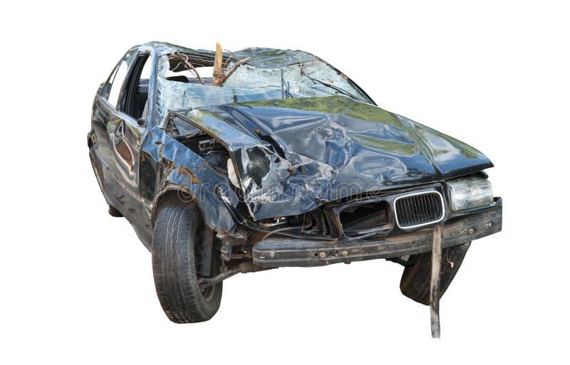 Carro quebrado. fotografia de stock royalty free