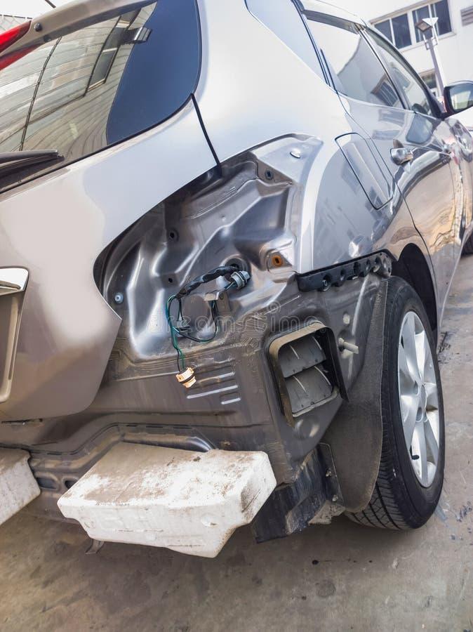 Carro quebrado foto de stock
