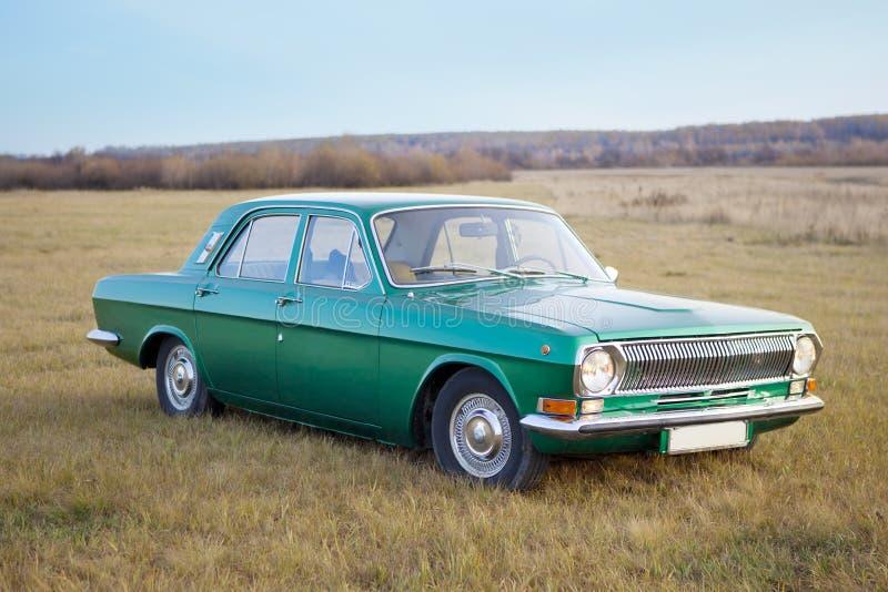 Carro retro. foto de stock royalty free