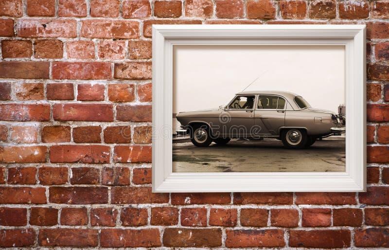 Carro retro fotografia de stock