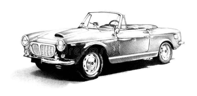 Carro Retro Imagens de Stock