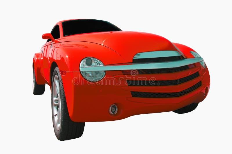 Carro rojo fotografía de archivo
