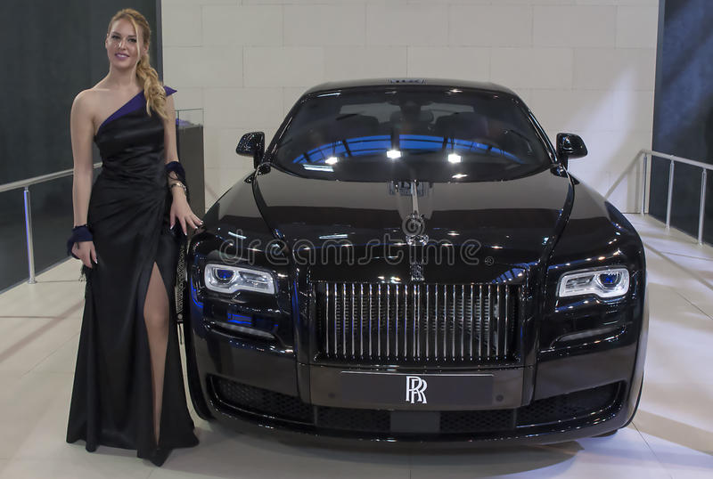 Carro Rolls royce imagens de stock