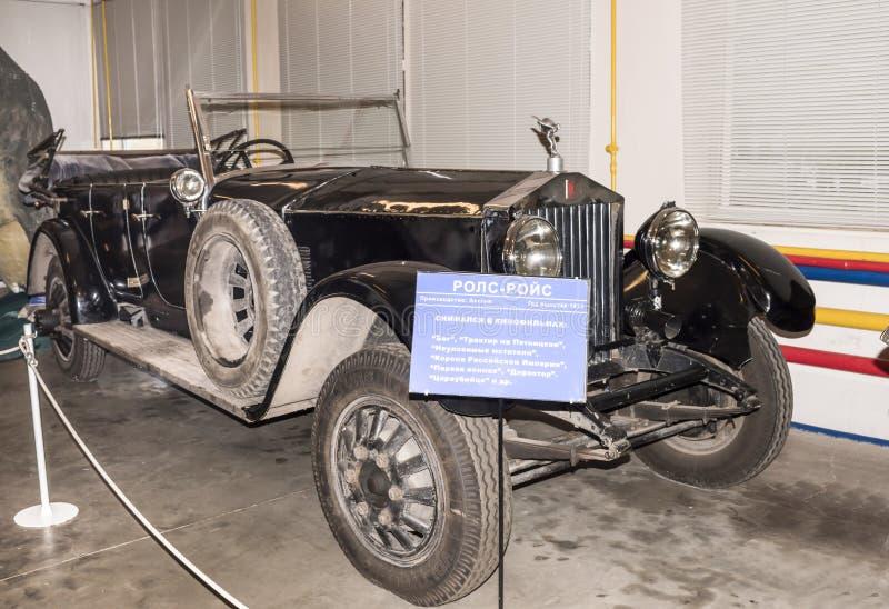 Carro Rolls royce (1913) dentro imagem de stock