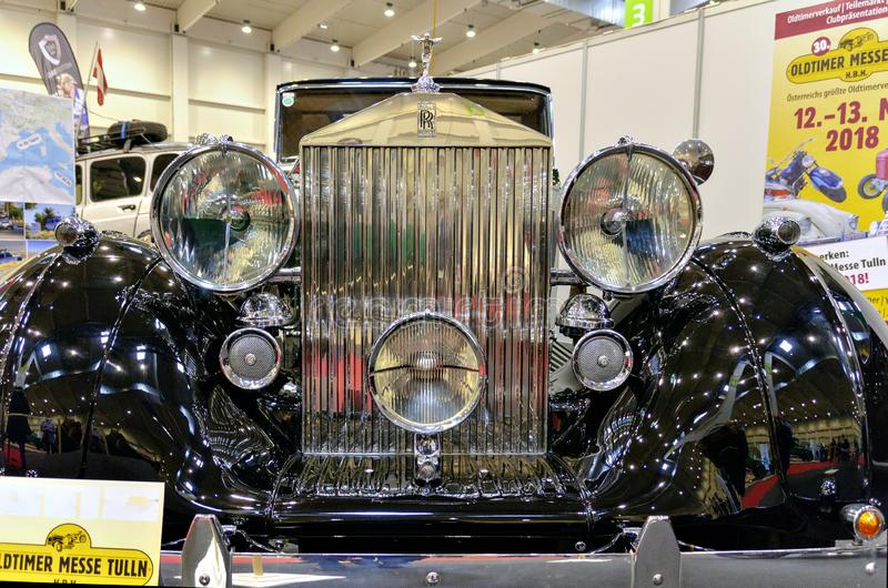 Carro Rolls Royce Wraith do vintage imagens de stock royalty free