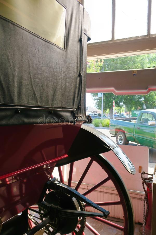 Carro sin caballo fotografía de archivo