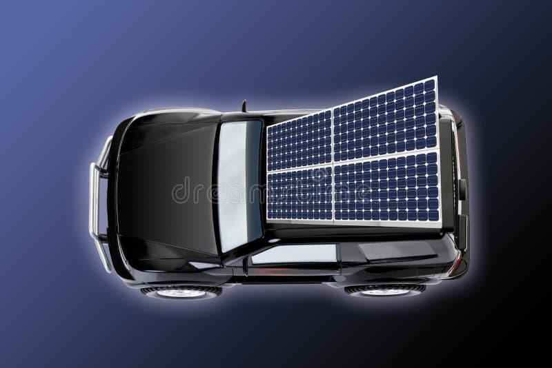 Carro solar foto de stock royalty free