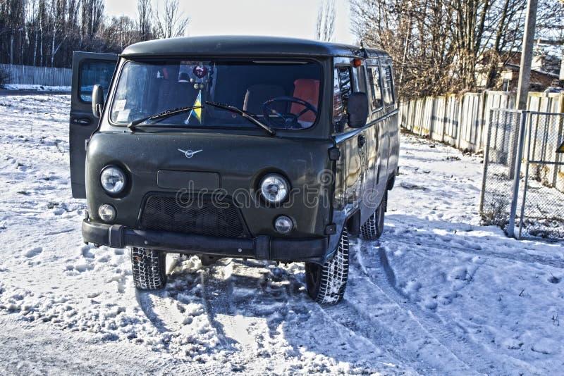 Carro soviético do vagabundo fotografia de stock royalty free