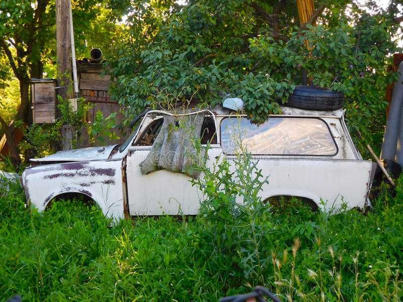 Carro Unserviceable foto de stock royalty free