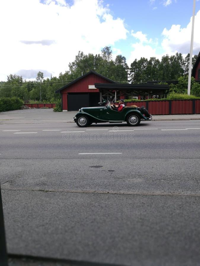 Carro velho agradável! fotografia de stock royalty free