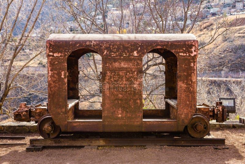 Carro velho da mineração imagem de stock royalty free