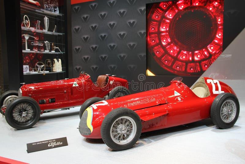 Carro velho de Alfa Romeo fotografia de stock