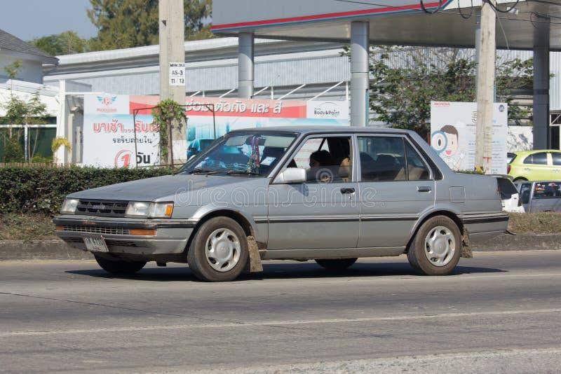 Carro velho privado, Toyota Corolla fotografia de stock royalty free