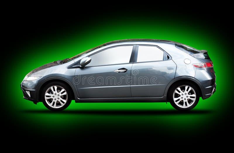 Carro verde fotos de stock royalty free