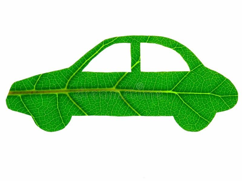 Carro verde foto de stock royalty free