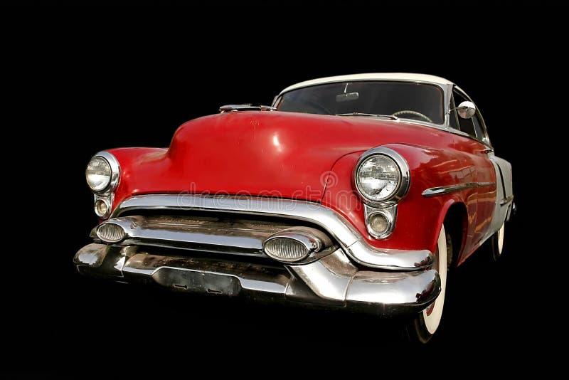 Carro vermelho do músculo imagem de stock royalty free