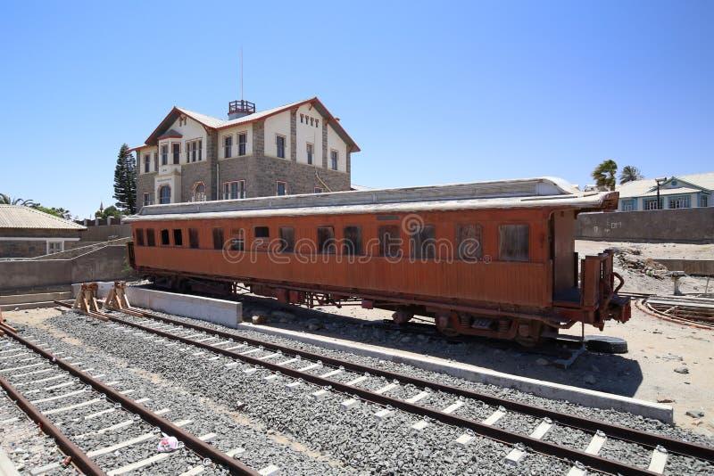 Carro viejo en el luderitz, Namibia imágenes de archivo libres de regalías