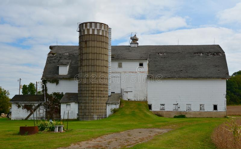 Carroll County Dairy Barn photos stock