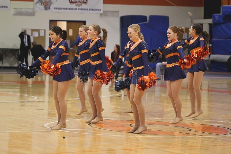 Carroll University Dance Team royalty-vrije stock afbeelding