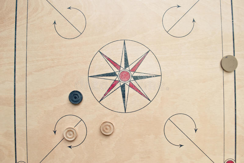 Download Carrom board stock image. Image of carrom, object, board - 25559377