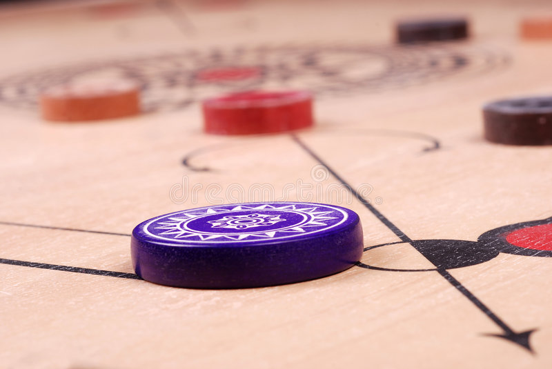 Download Carrom board (HIT) stock image. Image of sports, caroam - 4987127