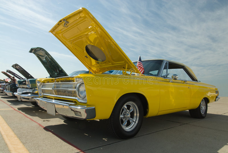 Carros clássicos fotografia de stock royalty free