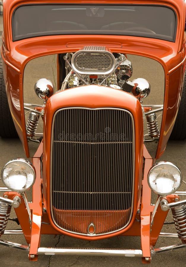 Carros coloridos de Rod quente imagens de stock