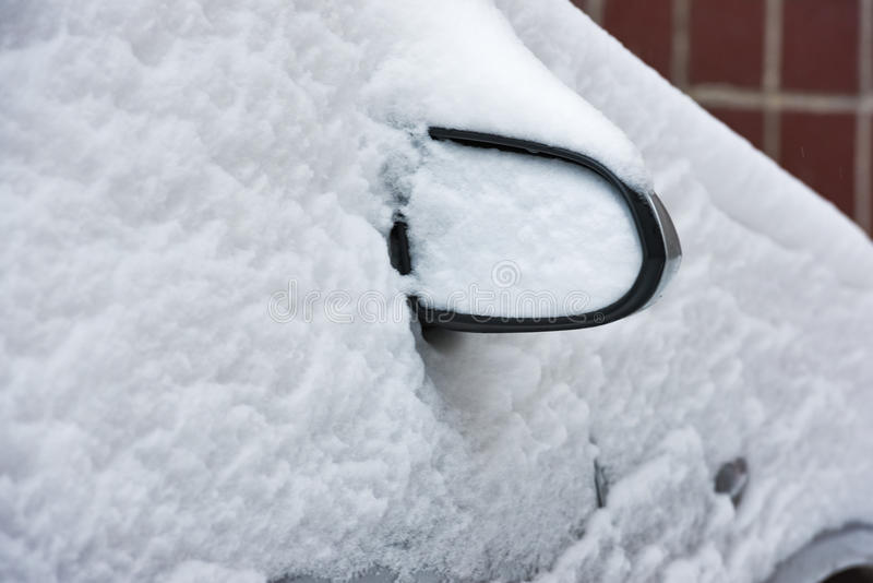Carros da neve dos acordos foto de stock royalty free
