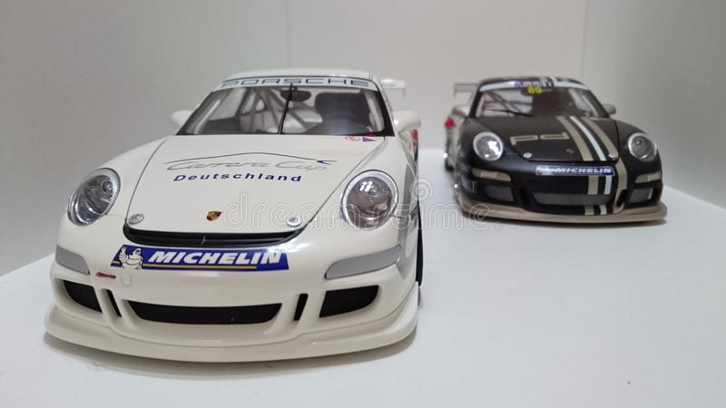 Carros de esportes de Porsche GT3 RS foto de stock