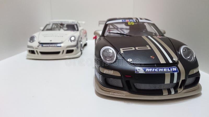 Carros de esportes de Porsche GT3 RS foto de stock royalty free