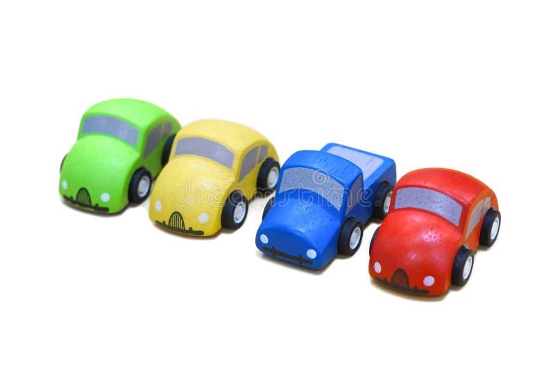 Download Carros de madeira imagem de stock. Imagem de brinquedo - 80103181